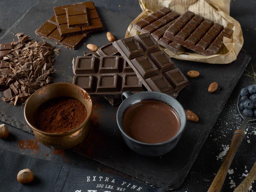 French dark chocolate
