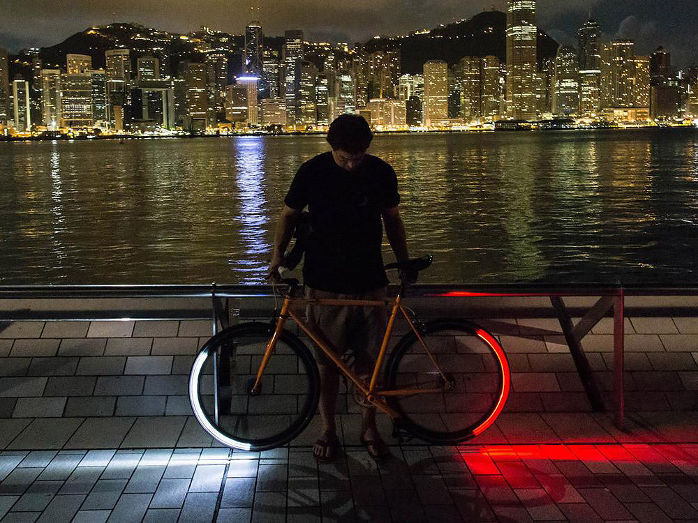 Bicycle lighting system