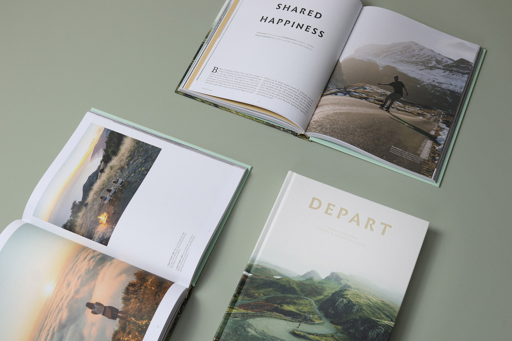 Travel & photography book