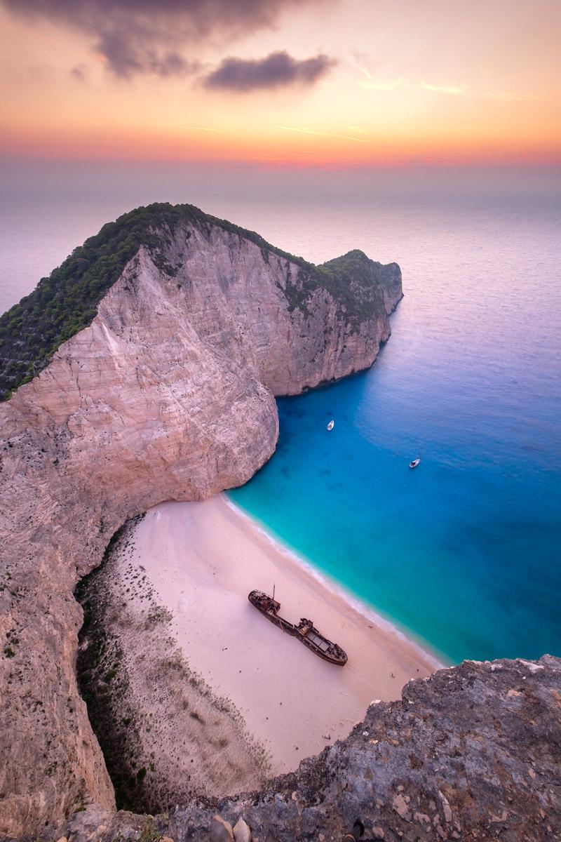 Spectacular beach in Greece