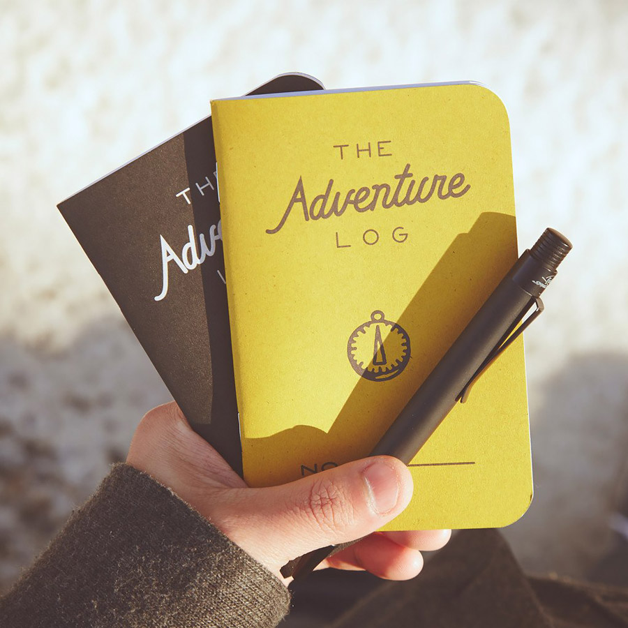 Old fashioned notebook