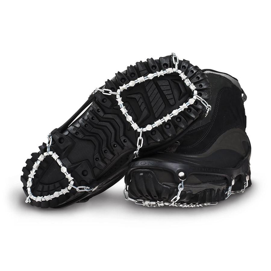 Winter traction footwear