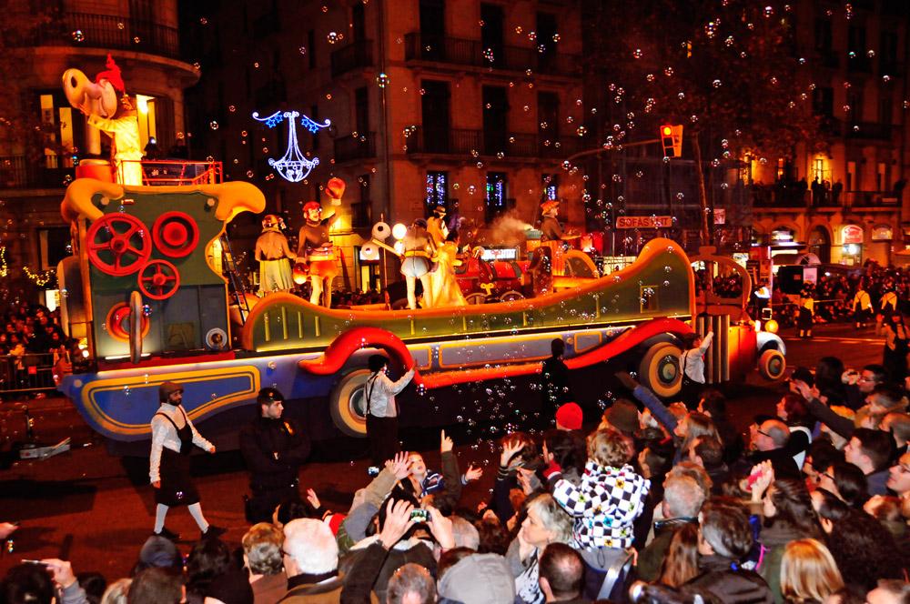 Cabalgata de Reyes Magos, Barcelona