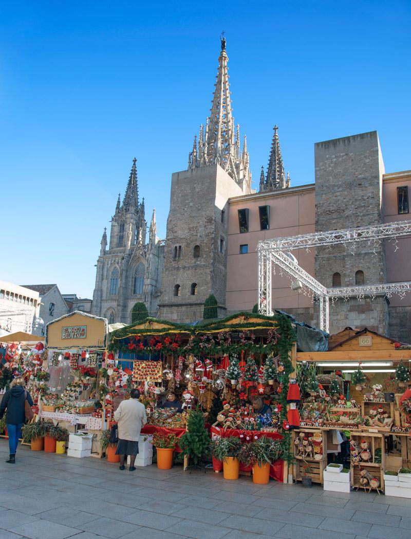 Santa Llúcia Christmas Market, Barcelona