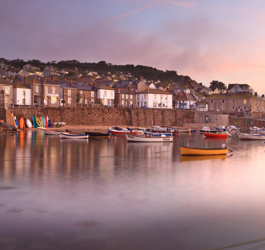The prettiest village in Cornwall