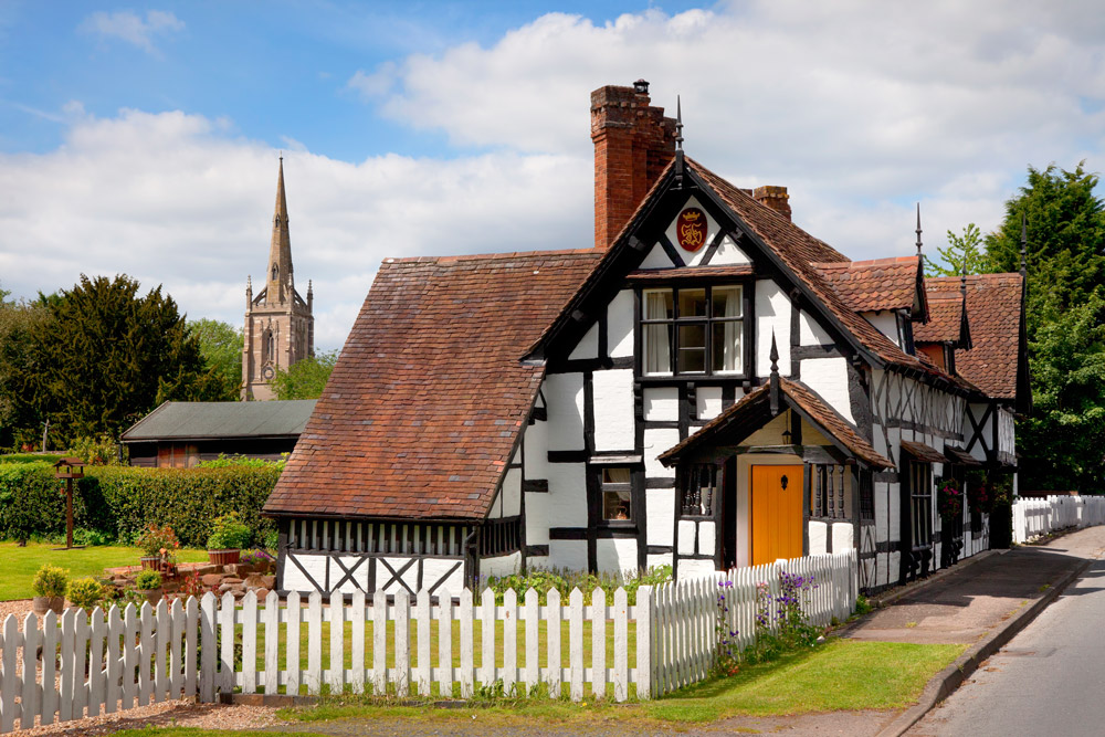 Traditional cottage in England