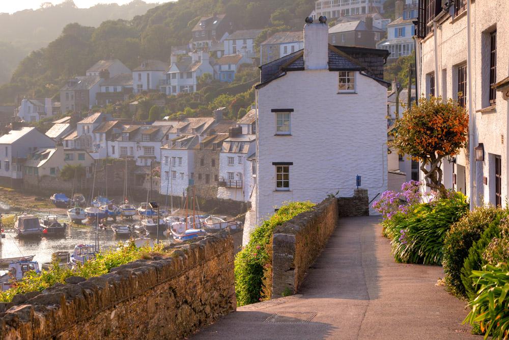 Beautiful village in Cornwall
