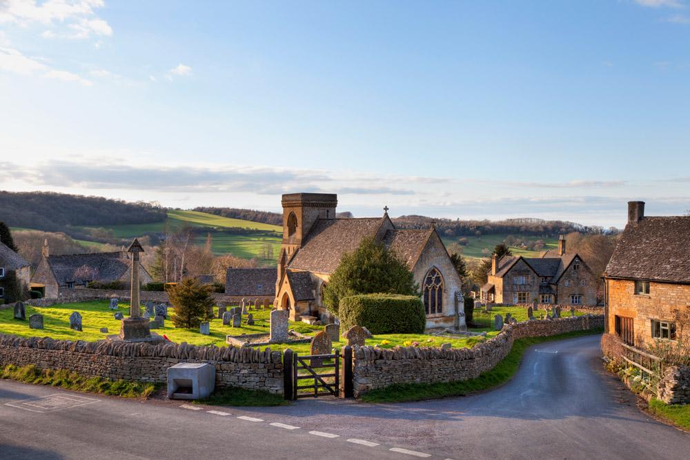 Beautiful English village