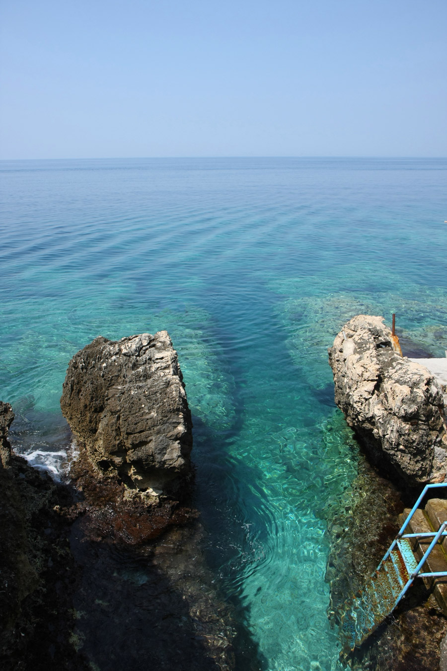 Ladder to the Adriatic Sea