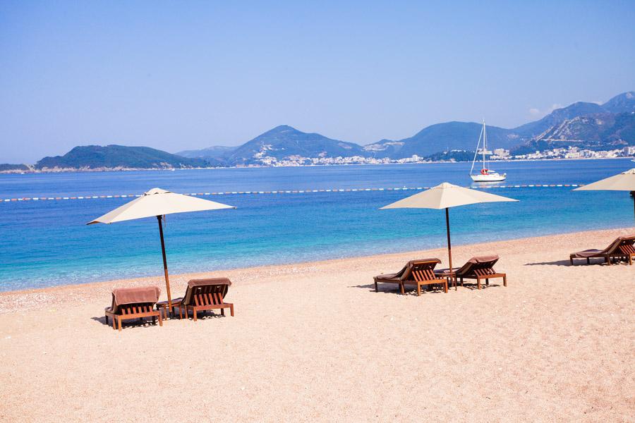 Beach at the Adriatic