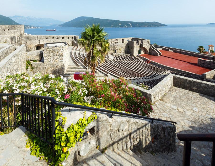 Sea fortress Forte Mare