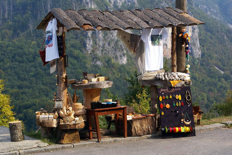 Traditional kiosk in Montenegro