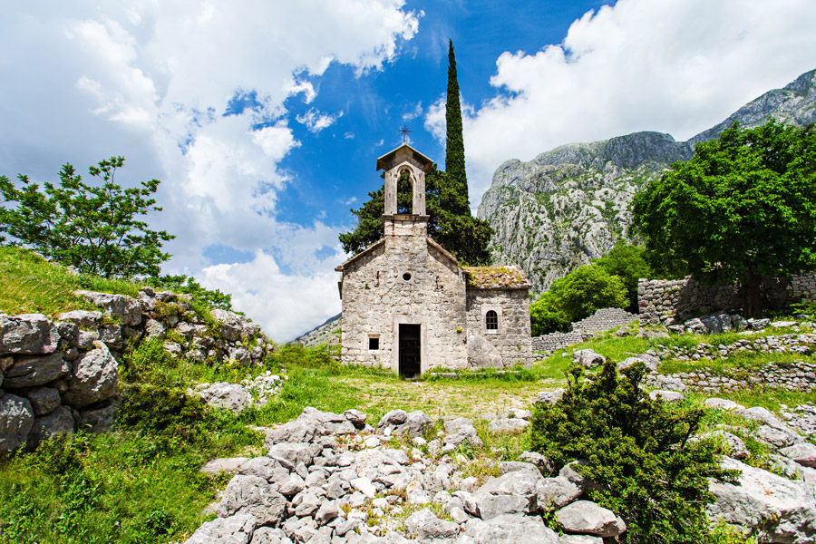 Countryside in Montenegro