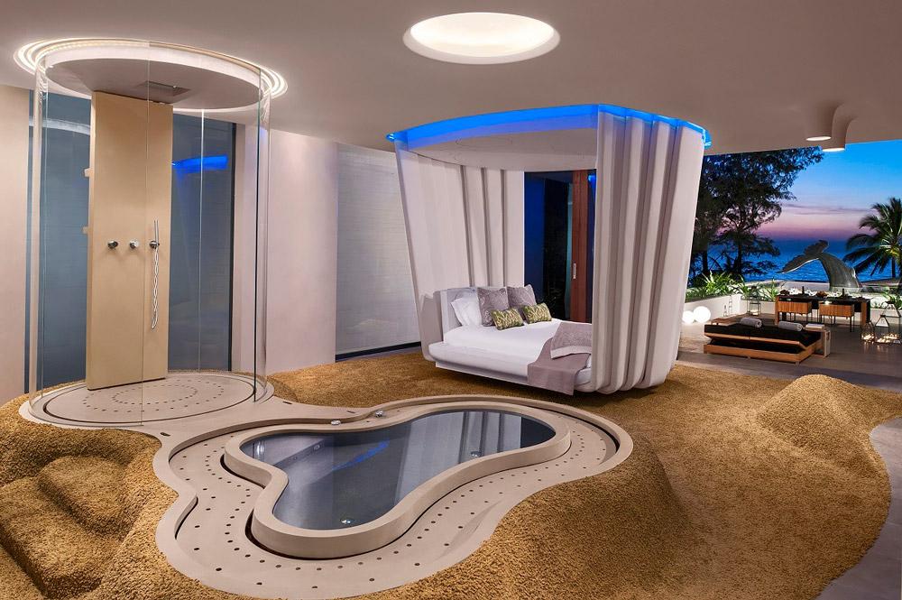 Designer luxury bedroom
