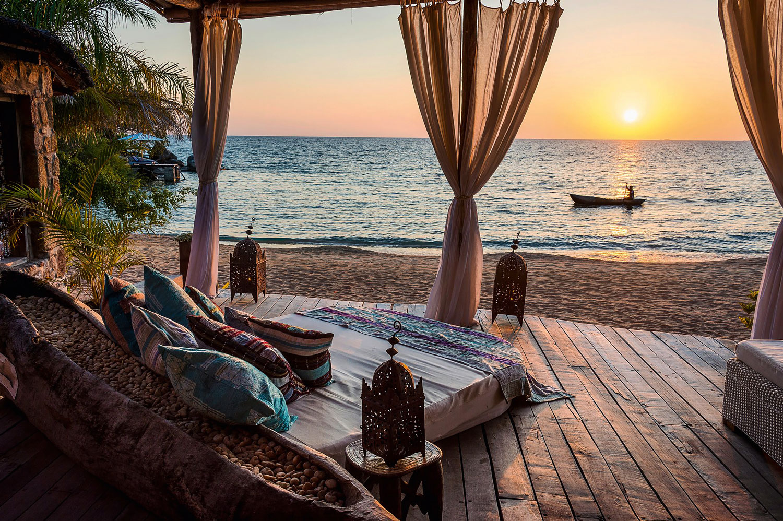 Beach house in Malawi