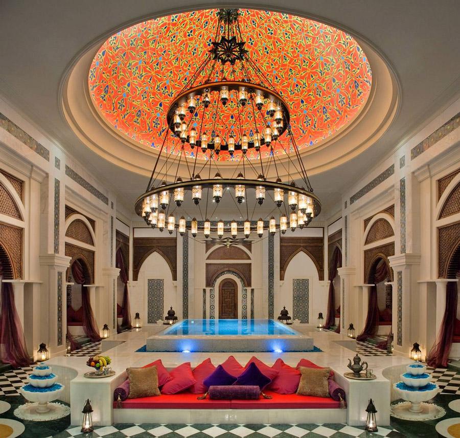 Palatial spa in Dubai