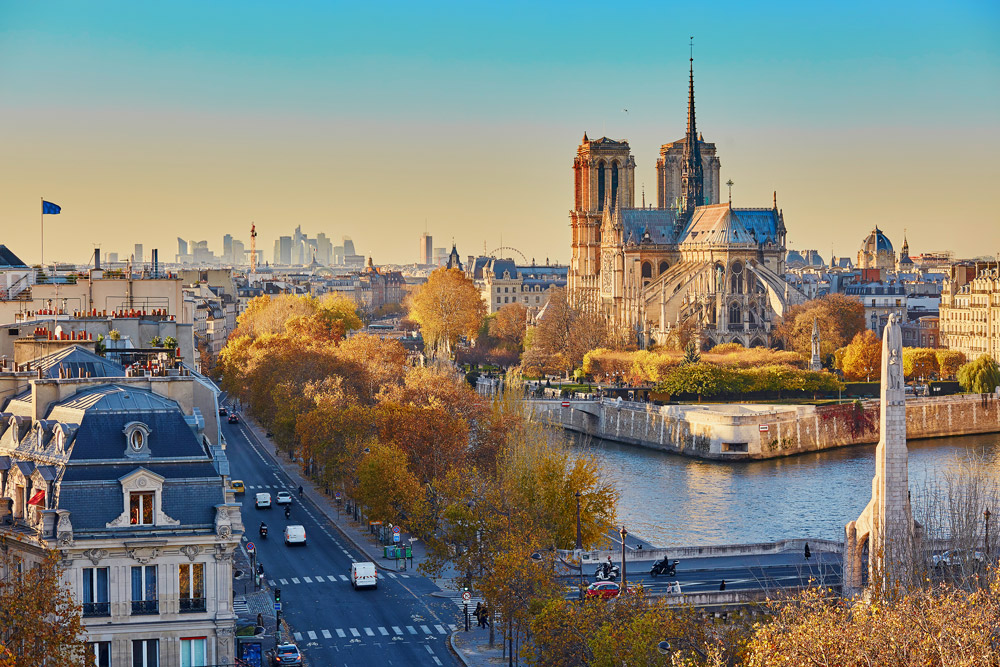 Seine and Notre-Dame Cathedral