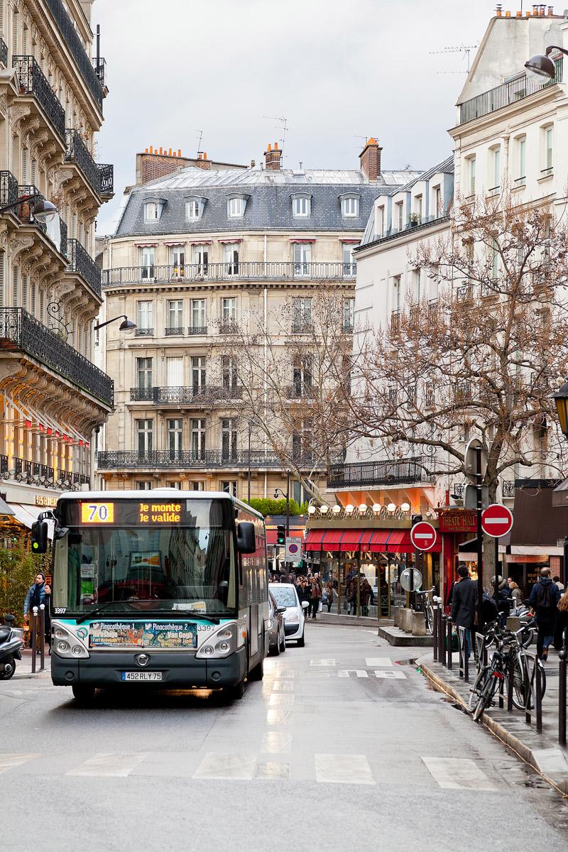 Public transportation in Paris