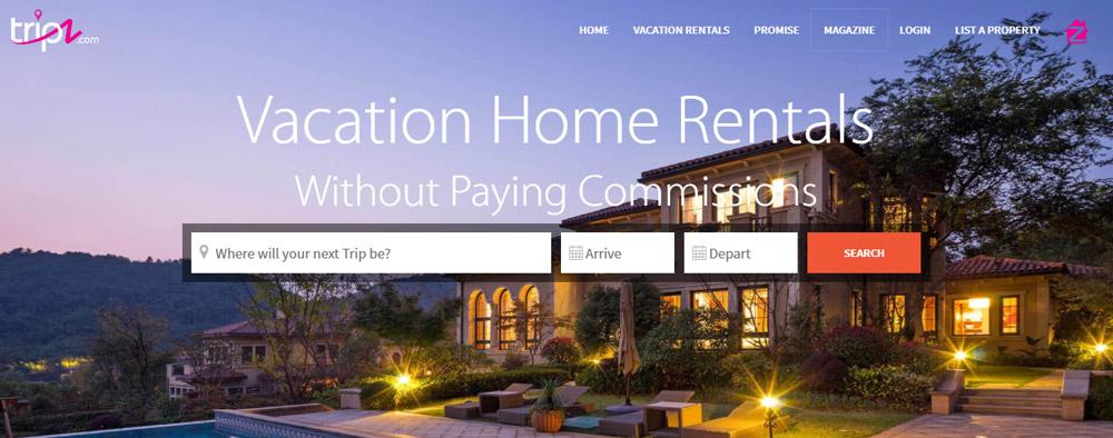 Advertising platform for vacation rentals
