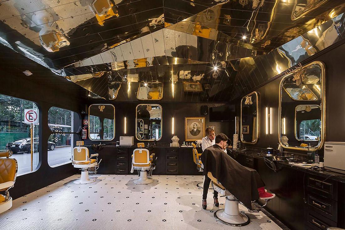 Unique hairdressing salon