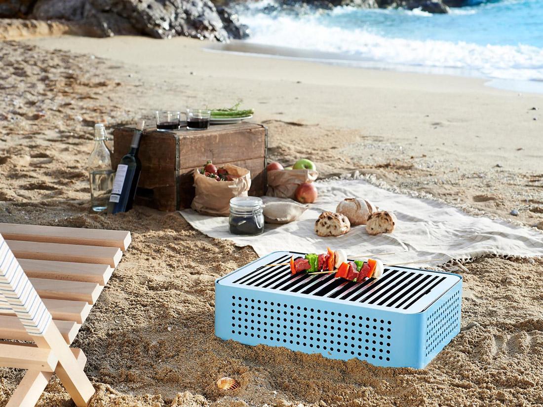 Stylish portable grill