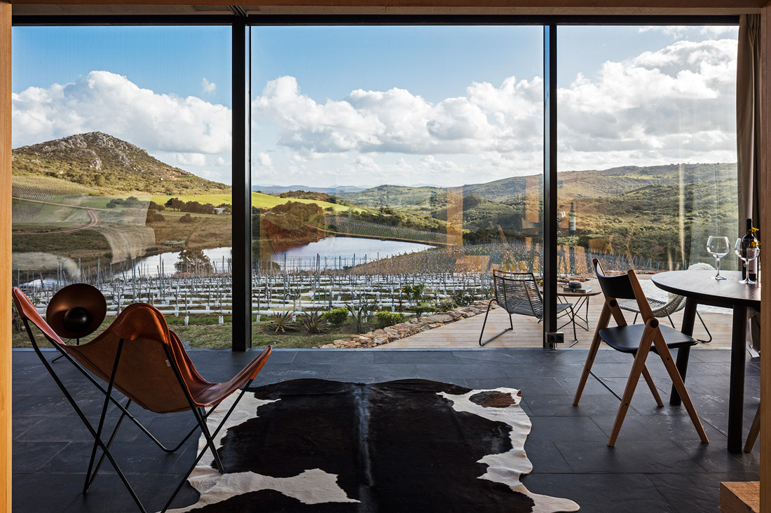 Landscape hotel in Uruguay