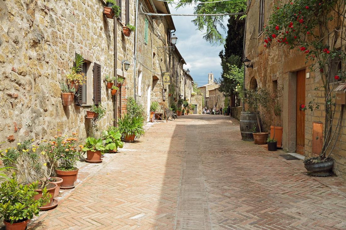 Sovana medieval village