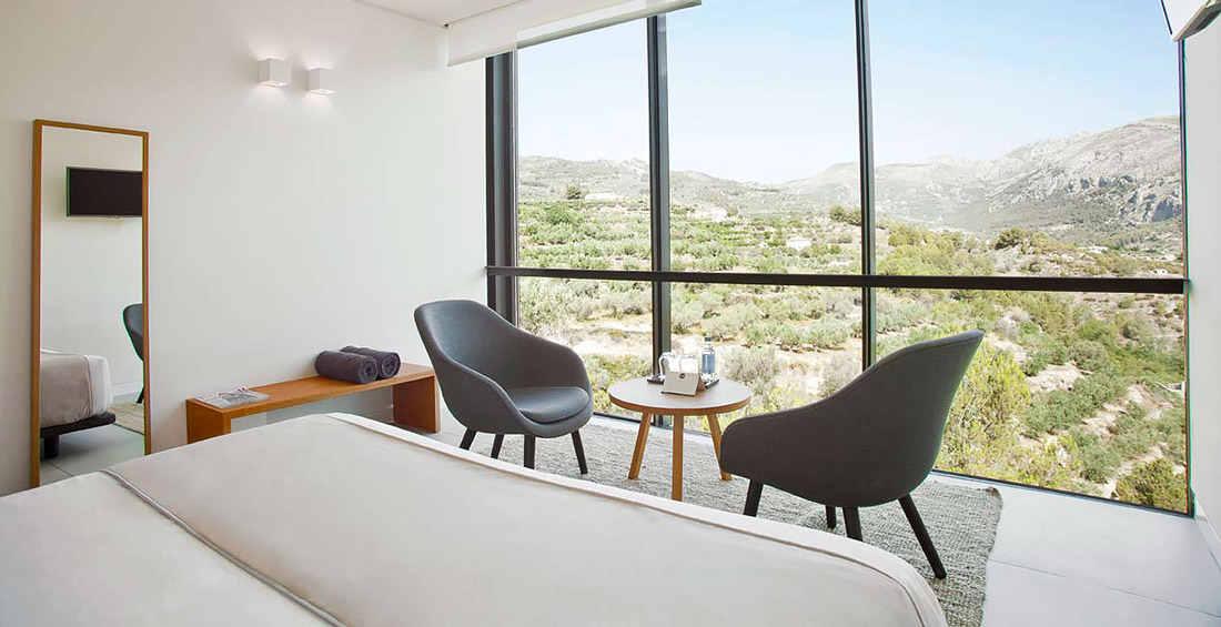 Landscape hotel in Spain