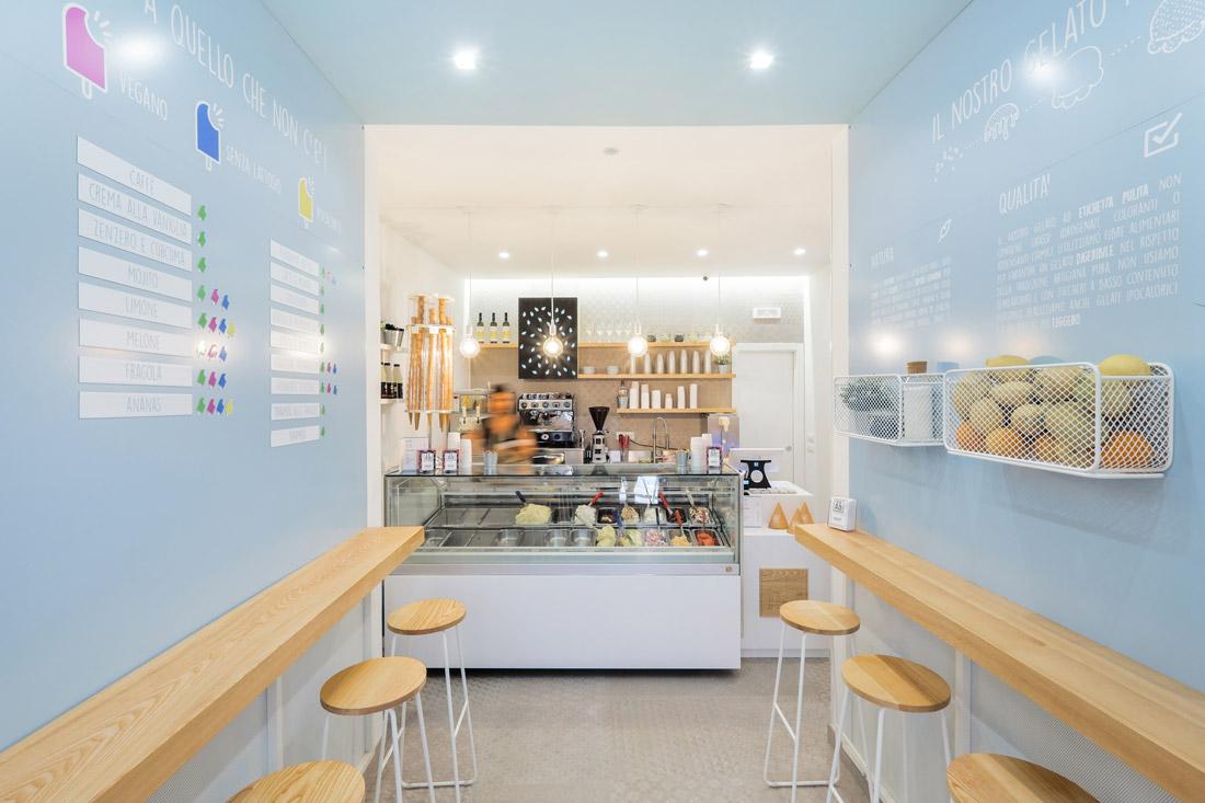 Dessert store in Isola del Liri