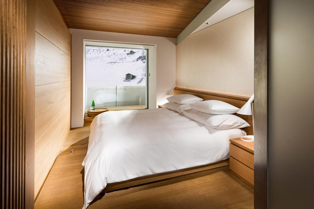 Bedroom design by Tadao Ando