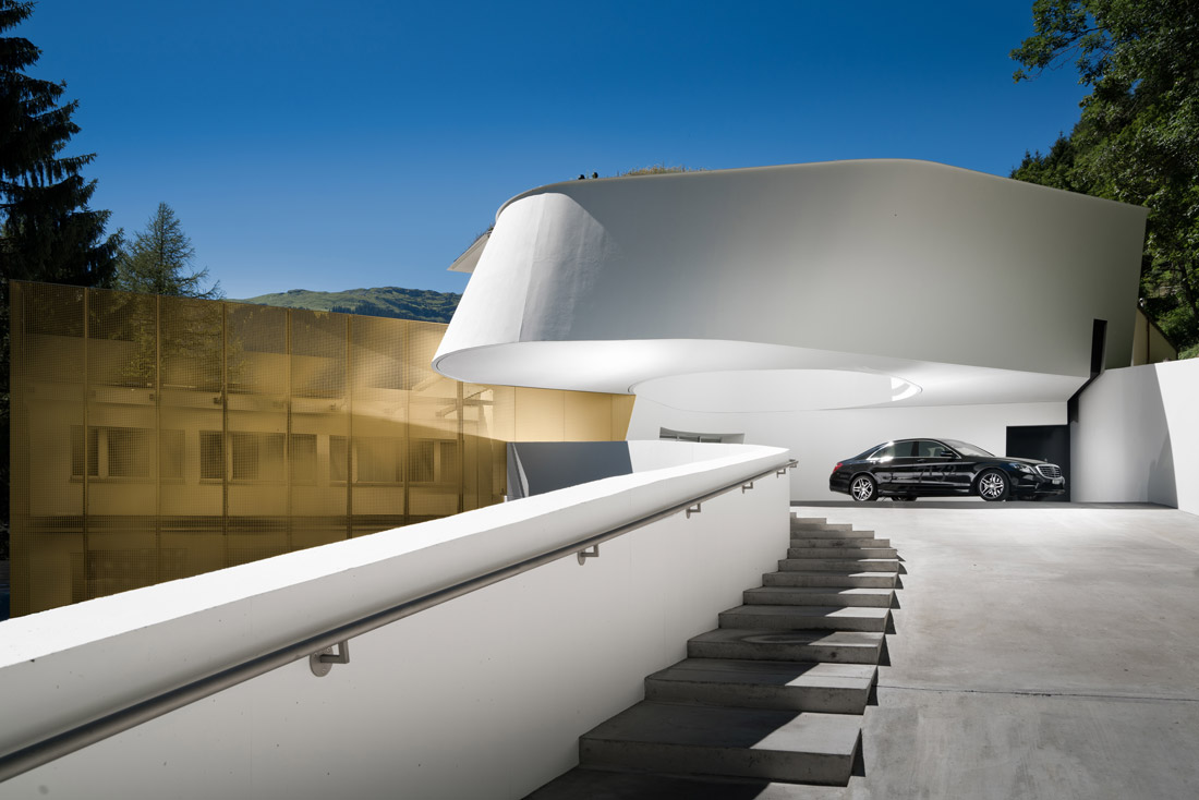 Impressive luxury hotel in Switzerland