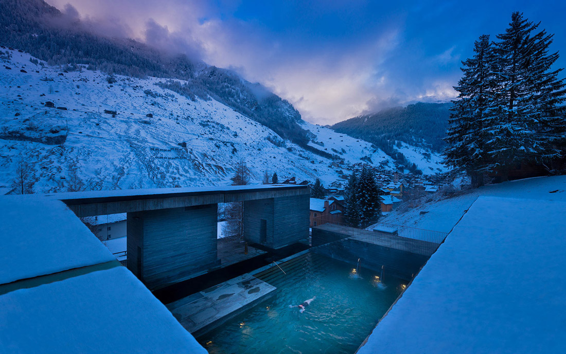 Thermal bath in Vals