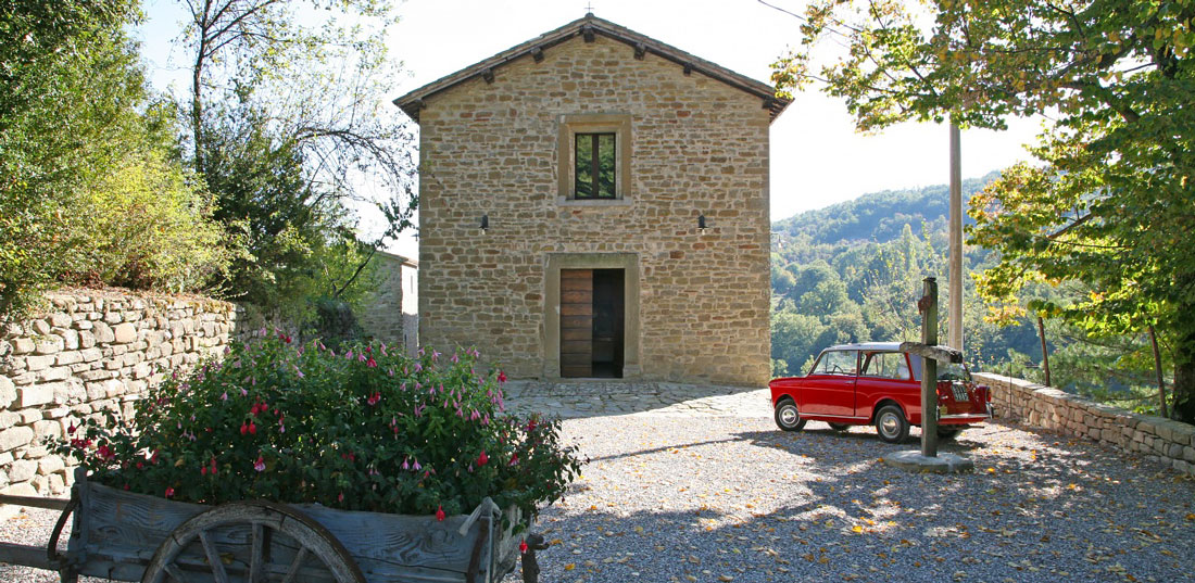 Secluded hamlet in Umbria