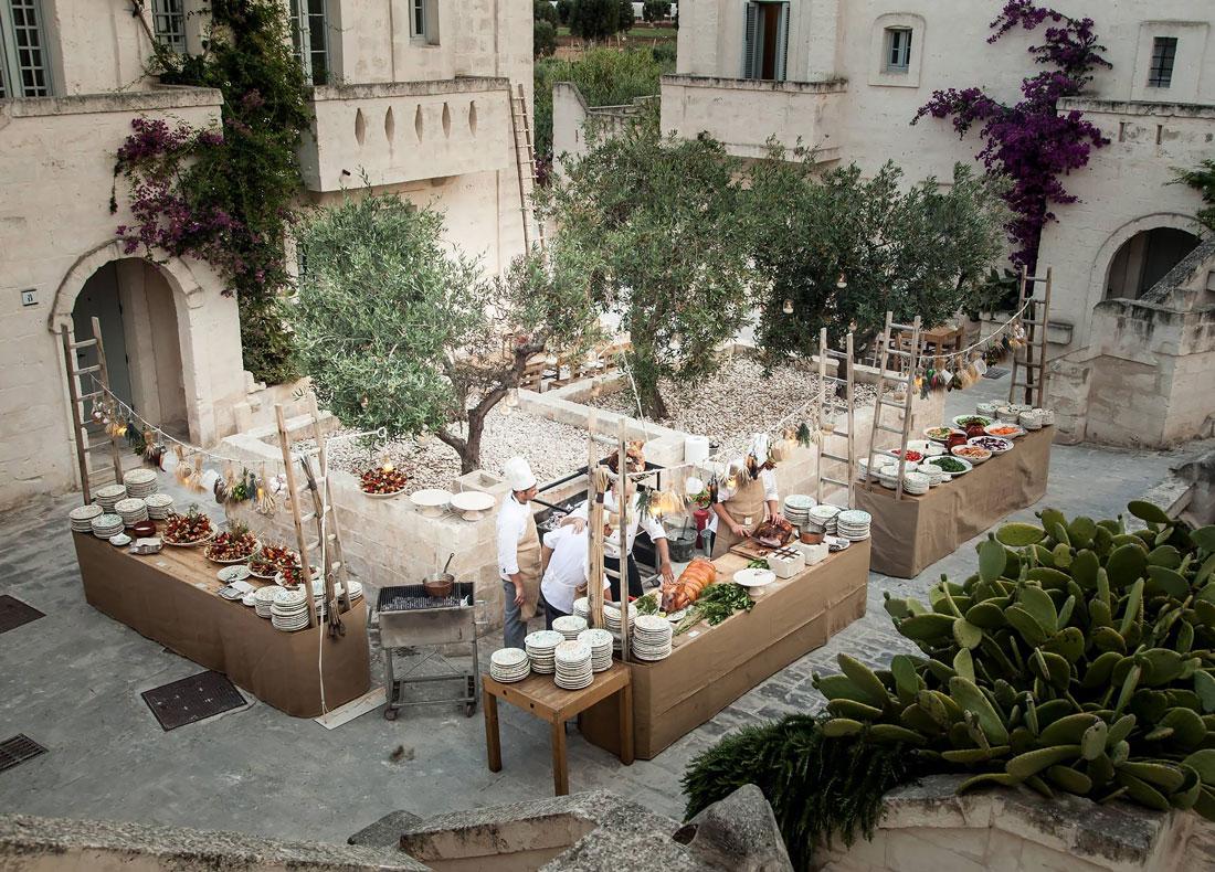 Beautiful borgo in Puglia