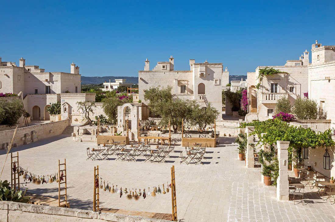 Traditional Apulian village