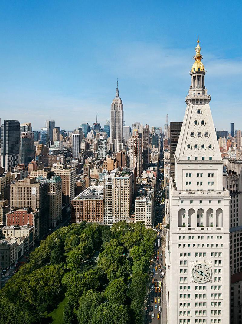 Hotel near park in Manhattan
