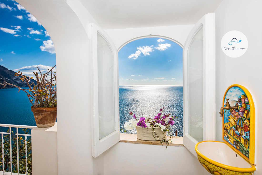 Traditional house in Positano