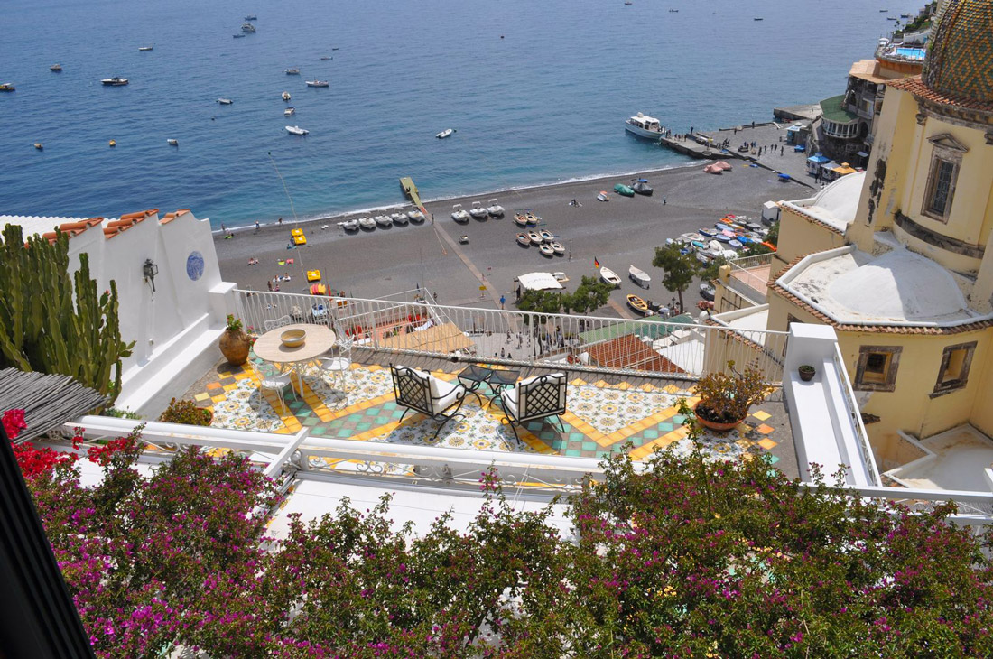 Holiday rental in Positano