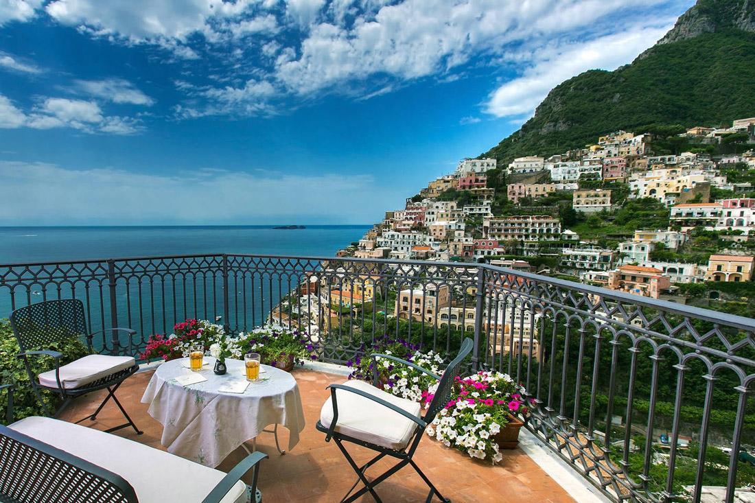 Stunning vistas of the Amalfi Coast