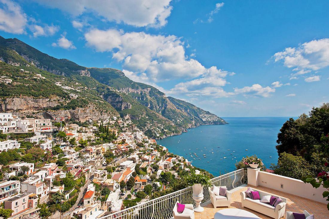 Best views on the Amalfi Coast