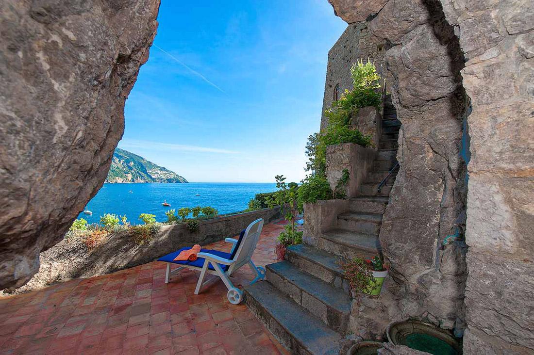 Unique villa in Positano