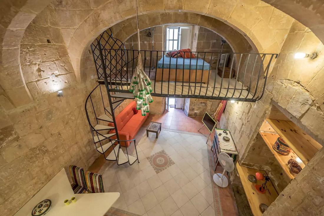Loft for rent in Valletta
