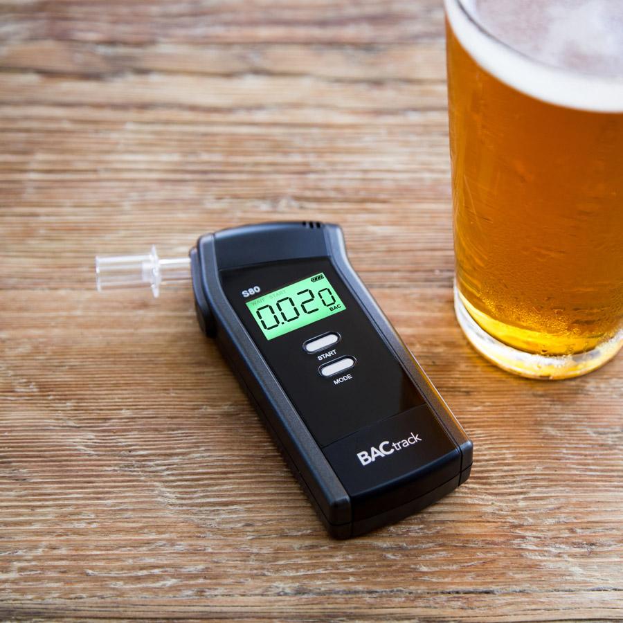 Portable breath alcohol tester