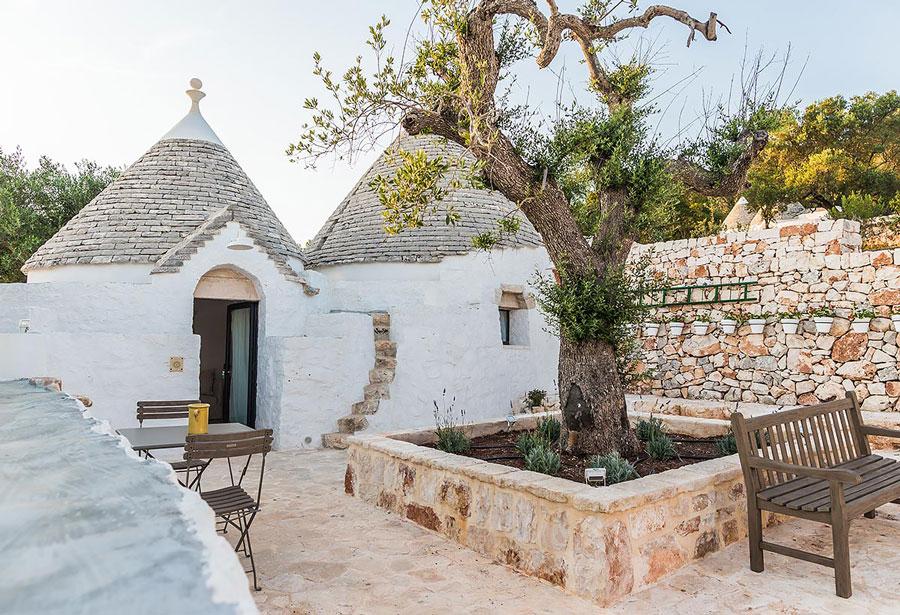 Trulli hotel in Puglia