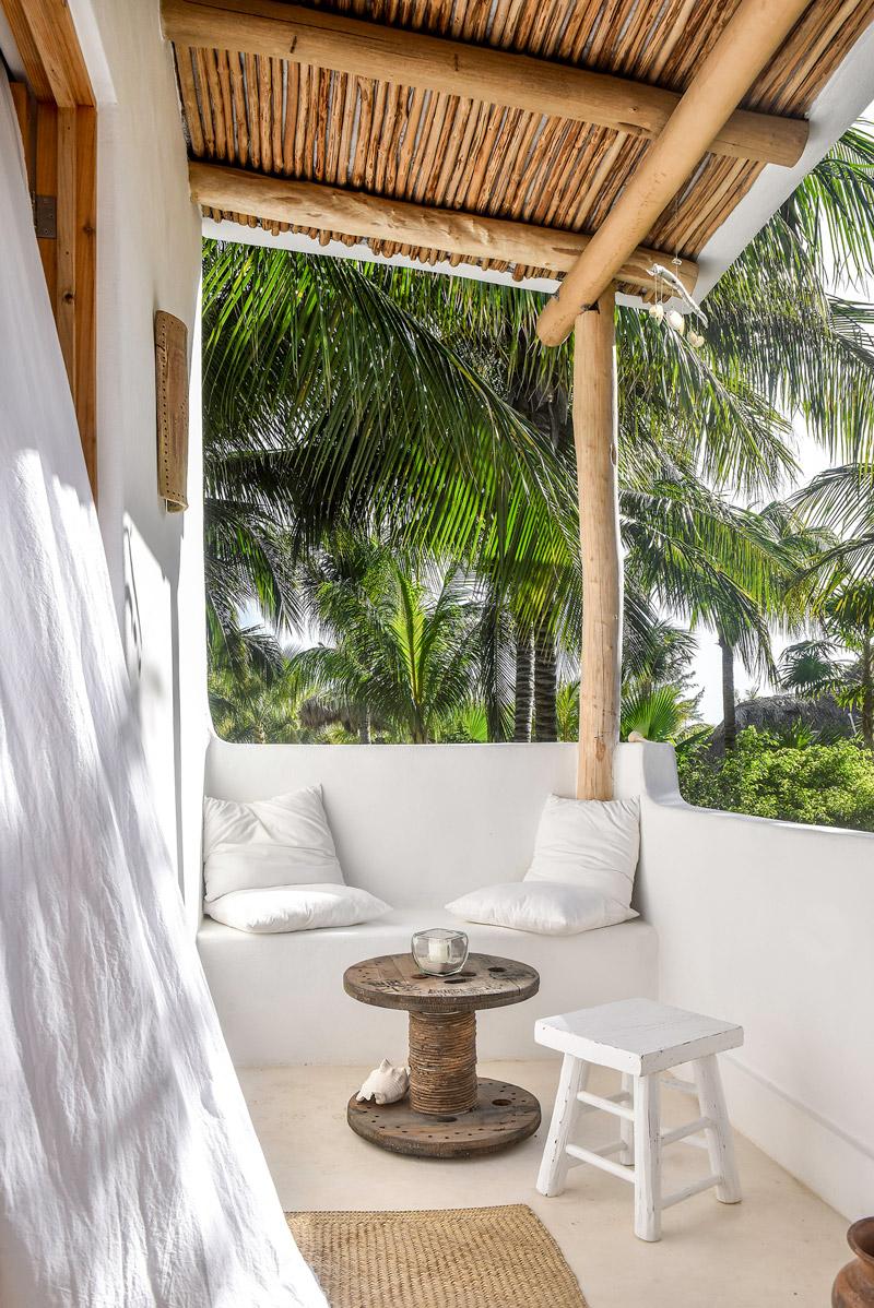 Small and cozy balcony