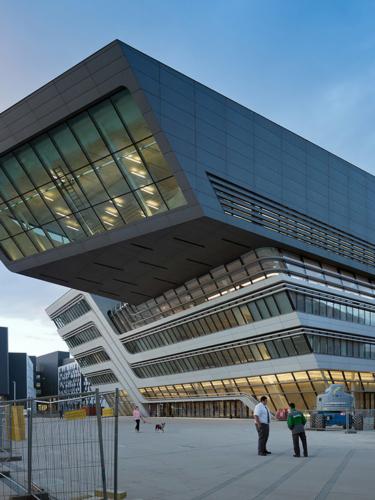 Contemporary architecture in Vienna