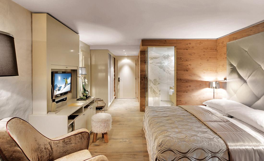 Smart designer hotel in St. Moritz