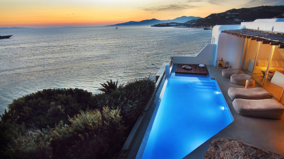 House with the best views in Mykonos