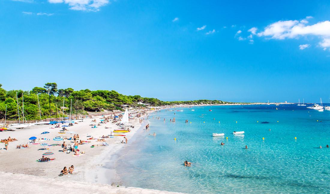 Las Salinas beach, Ibiza