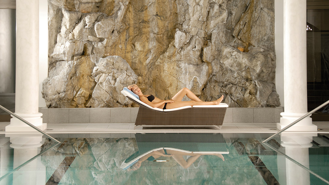 Luxury spa in St. Moritz